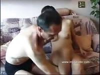Russian horny daughter