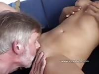 Blonde sexy daughter and dad