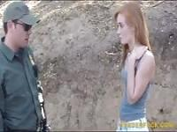 BP agent banged border hopping hottie