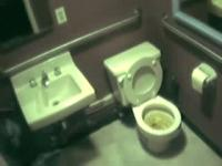 Toilet voyeur with guy