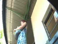 Real redhead milf upskirt voyeur video