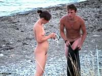 Seashore nudists