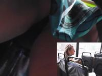 The surprise upskirt for perverted cameraman