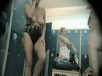 Girls in the dressing room uncover nudity on the spy cam