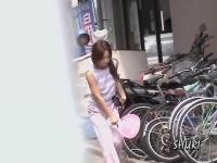 Pretty Asian teen got sharked in Japan while taking a walk