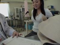 Dildo fuck for a sweet Japanese teen during Gyno exam