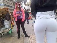 Tight White Leggings