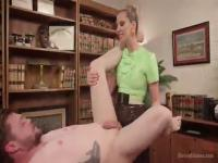 Maitresse Madeline massages your prostate