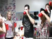 Amateur college drinking games