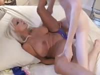 Incredible and horny granny