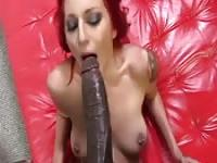The biggest cock she's seen