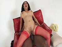 Great banging to a big tit woman with cum in her tits
