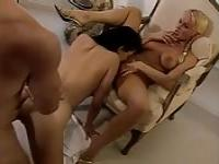 Silvia Saint has a threesome with her friend and her husband