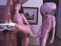 XXX Files: Fucking with an alien