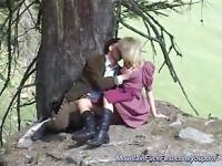 milf anal fuck in the mountains
