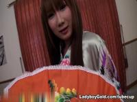 LadyboyGold Clip: Turning Japanese