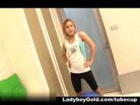LadyboyGold Video: Winker Workout