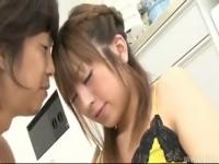 Cute Yuu s Hirsute Snatch Munched and then Pounded