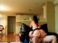 Wife gets screwed on hidden camera in real homemade sextape