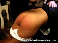 Andrea 'Nadia' Spinks acquires a flogging