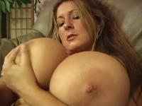 Giant Tit's Receive Cummed On