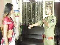Indian cop and hot girl