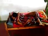 Indian couple romp on camera
