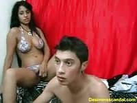 Cute cam teen couple