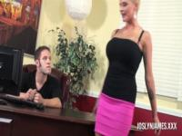 Joslyn James Dominates Step Son To Teach Him A Lesson