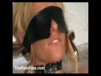 Crystel Leis bizarre anus hot waxing and blindfolded