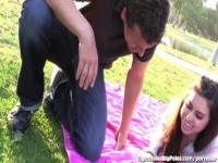 Playful Teen Fucked By Older Man