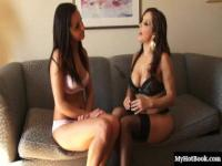 Chanel White and Francesca Le are sexy in their lingerie but they really