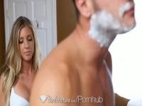 HD - PureMature Sexy Samantha Saint gets showered with cum
