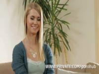Blonde Step Sister Violette Pink Gets DP