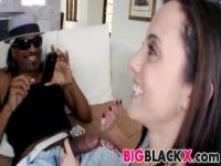 Roxanne Rae is shocked by her first black dick