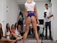 Wicked - Cali Carter gets a backroom facial