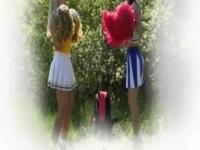 teen cheerleaders fuck outdoors