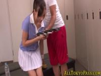 Tiny asian teen fucked