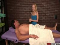 Perverted Client Has To Tweak His Masseuses Twat To Get A Happy Ending