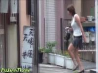 Fetish asian drizzles pee