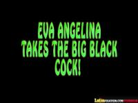 LatinFixation Tatted babe Eva Angelina gets fucked by a big black cock