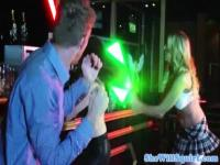 British jedi squirter gets fucked in the bar