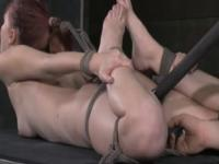 Rope hogtied bondage