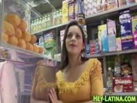Amateur latina fingered