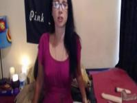 Tina masturbates anal and has orgasm