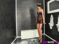 Fetish blonde wam creamed