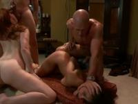 Mark Davis, Charley Chase, Lilla Katt and Anthony Rosano in fantastic bdsm group porno action