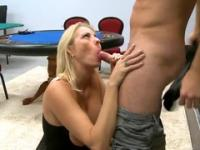 Milf Kathleen with hot boobies in hard core porn