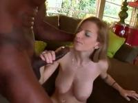 Playgirl Haley Cummings with hot big tits in hard fuck sex video