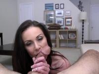 Milf Kendra Lust with hot bum is acting in blowjob xxx video
